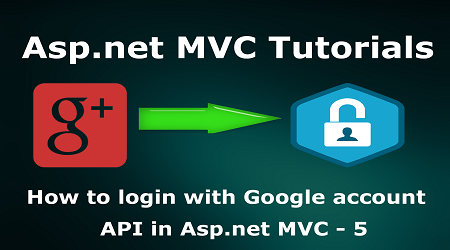 How to login with Google account API in Asp net MVC - 5