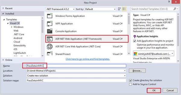 ASP NET MVC - Passing Data From Controller To View